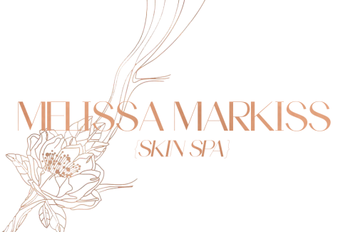 Melissa Markiss Logo with Floral Badge
