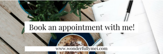 Book an appointment with me!