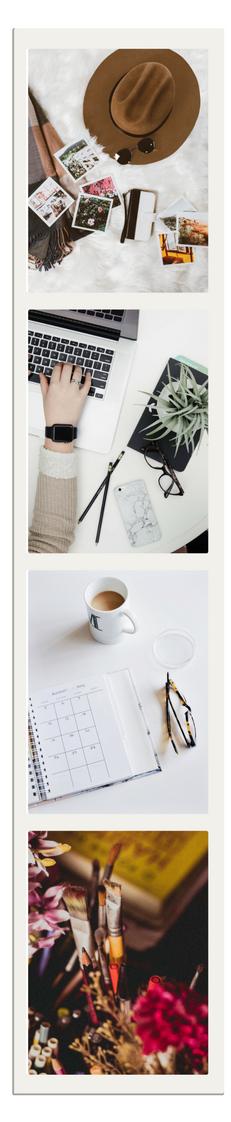 Website Polaroid Graphic